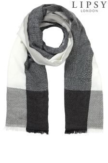 Lipsy Woven Check Scarf