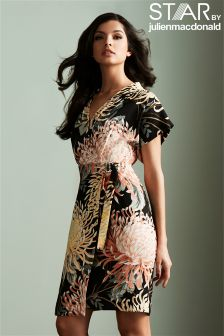 Star By Julien Macdonald Oriental Print Kimono Dress