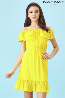 Naf Naf Bardot Summer Dress