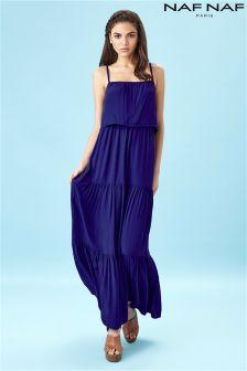 Naf Naf Fluid Maxi Dress