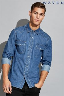 Waven Mens Denim Shirt