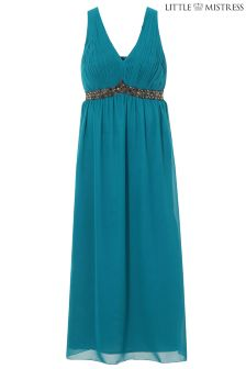 Little Mistress Curve Green Maxi