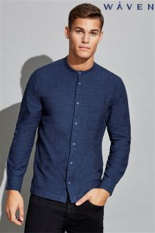Waven Mens Collarless Shirt