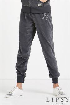 Lipsy Love Diamante Cuff Jogger