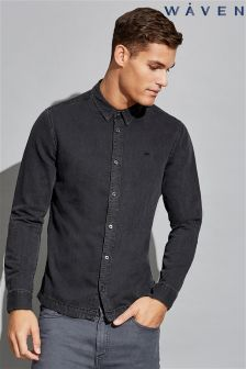 Waven Mens Long Sleeve Slim Shirt