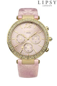 Lipsy Embellished Multi Dial Watch