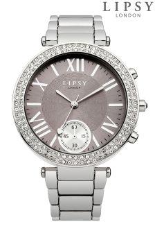 Lipsy Embellished Dial Bracelet Watch