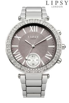 Lipsy Embellished Dial Bracelet Watch