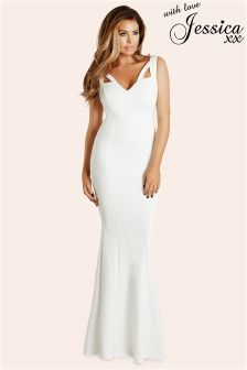 Jessica Wright Cut Out Maxi Dress