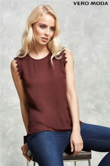 Vero Moda Lace Trim Top