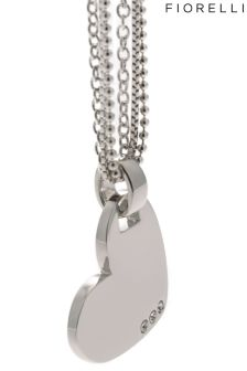 Fiorelli Jewellery Multi Chain Heart Necklace