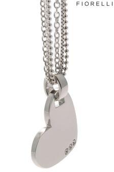 Fiorelli Jewellery Multi Chain Heart Necklace