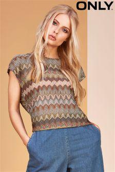 Only Crochet Tee