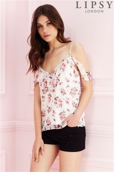 Lipsy Floral Ladder Trim Cami