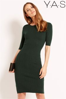 Y.A.S Knitted Midi Dress