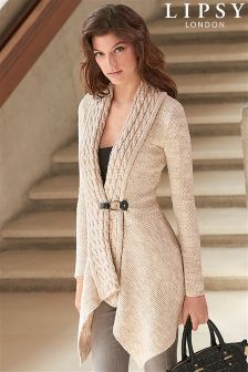 Lipsy Cable Collar Cardigan
