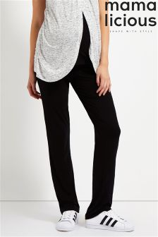 Mamalicious Maternity Jersey Yoga Trousers