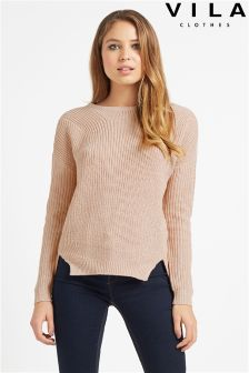 Vila Textured Knit Jumper