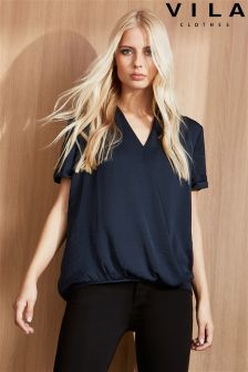 Vila Wrap Blouse