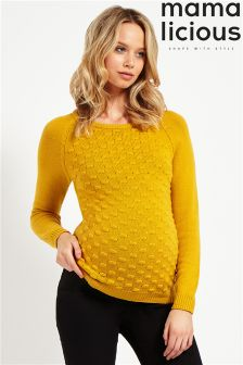 Mamalicious Maternity Knitted  Blouse