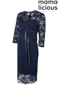 Mamalicious Maternity 3/4th Sleeves Jersey Dress