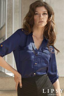 Lipsy Military Detail Shirt