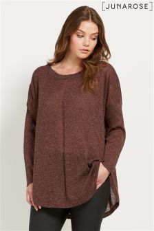 Junarose Long Sleeve Knit Pullover