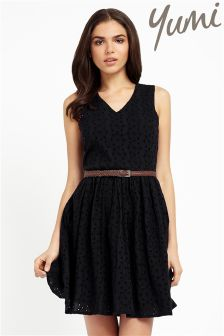 Yumi Broderie Anglaise Summer Dress