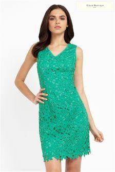 Uttam Boutique Lace A-line Dress