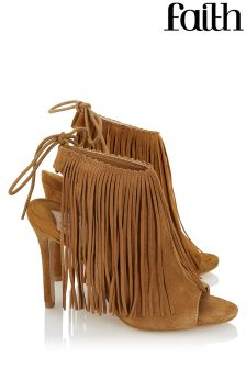 Faith Shoes High Fronted Fringe