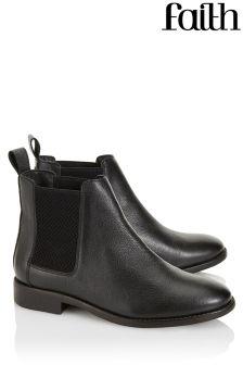 Faith Shoes Basic Chelsea Boots