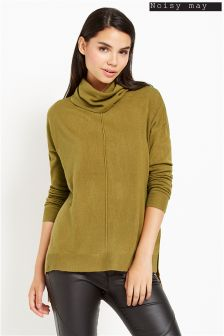 Noisy May Long Sleeve Roll Neck Jumper