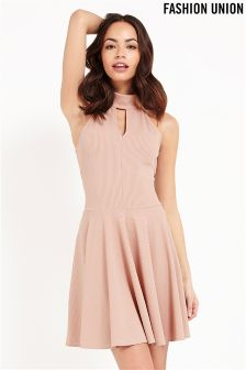 Fashion Union Jersey Skater Dress