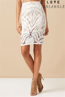 Love Triangle Lace Grand Designs Skirt
