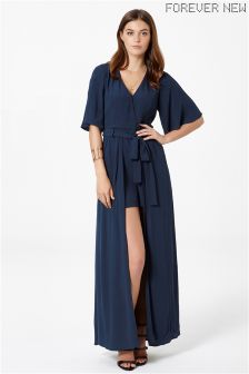 Forever New Wrap Maxi Playsuit