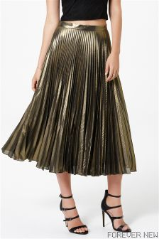 Forever New Pleated Midi Skirt