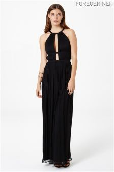 Forever New High Neck Maxi Dress