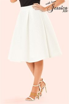 Jessica Wright Textured Prom Skirt