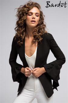 Bardot Frilly Sleeve Blazer