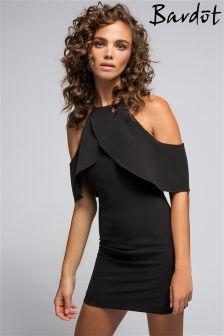 Bardot Frilly Mini Dress
