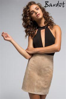 Bardot Cutout Bodysuit