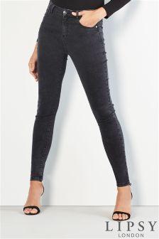 Lipsy Acid Wash Skinny Jeans