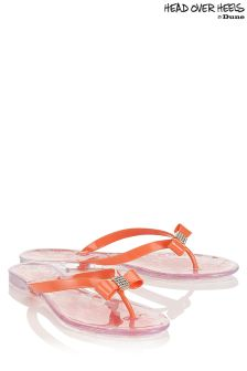 Head Over Heels Jelly Flipflops