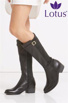 Lotus Long Leg Boots