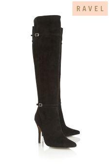 Ravel Over The Knee Point Boots