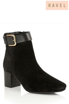 Ravel Western Style Ankle Boot