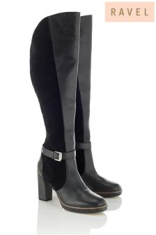 Ravel Heeled Long Boots