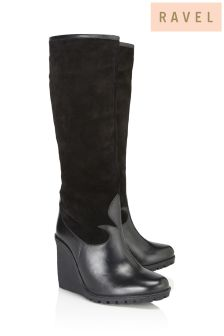 Ravel Wedge Boots