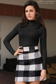 Lipsy Love Michelle Keegan High Neck Skirt Dress