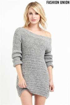 Fashion Union Scoop Neck Jumper